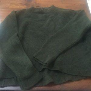 Zara knit  dark olive color